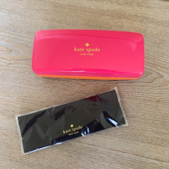 kate spade Accessories - Pink & Orange Kate Spade New York Sunglasses Case
